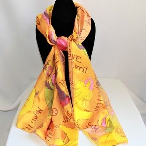 Fabulous Jane Avril 100% Silk Scarf
